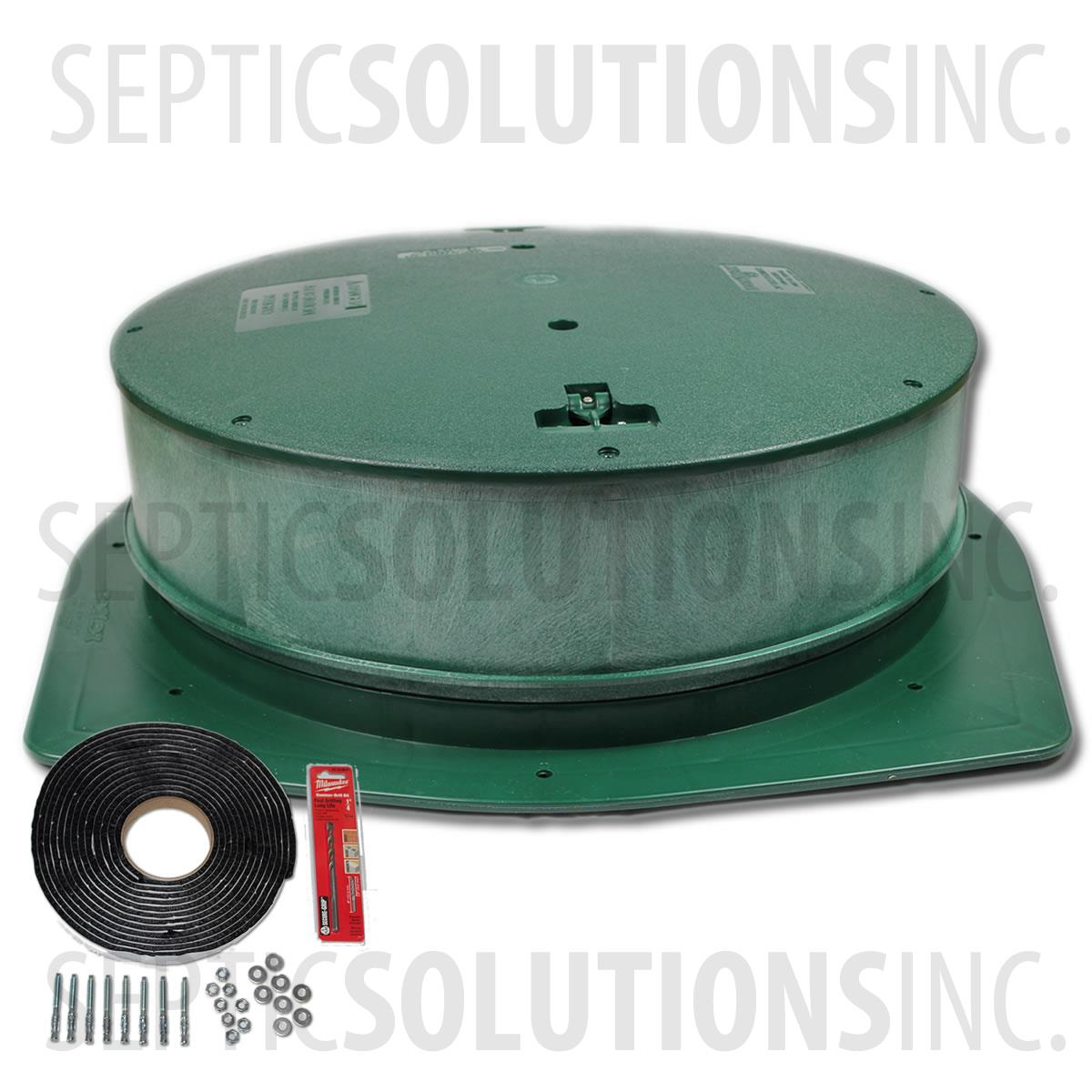 Polylok 24 Septic Tank Riser Package 8 Tall Septic