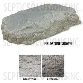 Riverbed Brown Replicated Rock Enclosure Model 108