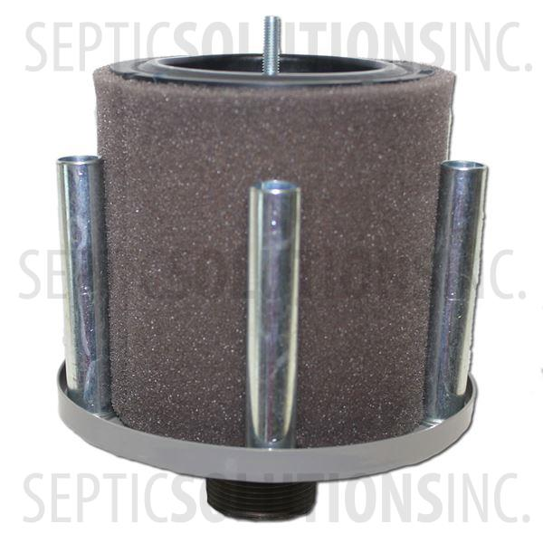 Intake Filter Assembly for 1.25'' Discharge Regenerative Blowers - Part Number FS-18P-125
