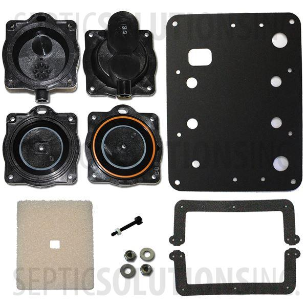 Hiblow HP-60 and HP-80 Complete Diaphragm Replacement Kit - Part Number HP6080Kit