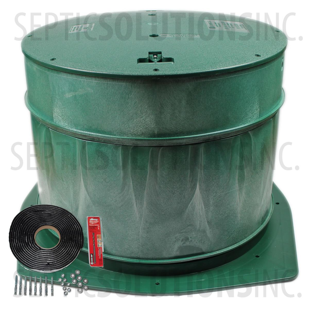 Polylok 24 Septic Tank Riser Package 20 Tall