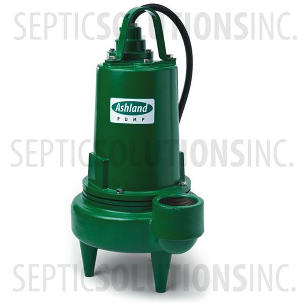 Ashland Model SW500M2-20 5.0 HP Submersible Sewage Ejector Pump - Part Number SW500M2-20