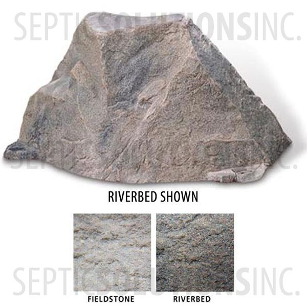 Fieldstone Gray Replicated Rock Enclosure Model 105 - Part Number 105-FS