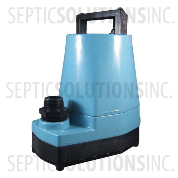 Little Giant 5-MSP 1/6 HP Submersible Utility Pump - Part Number 505000