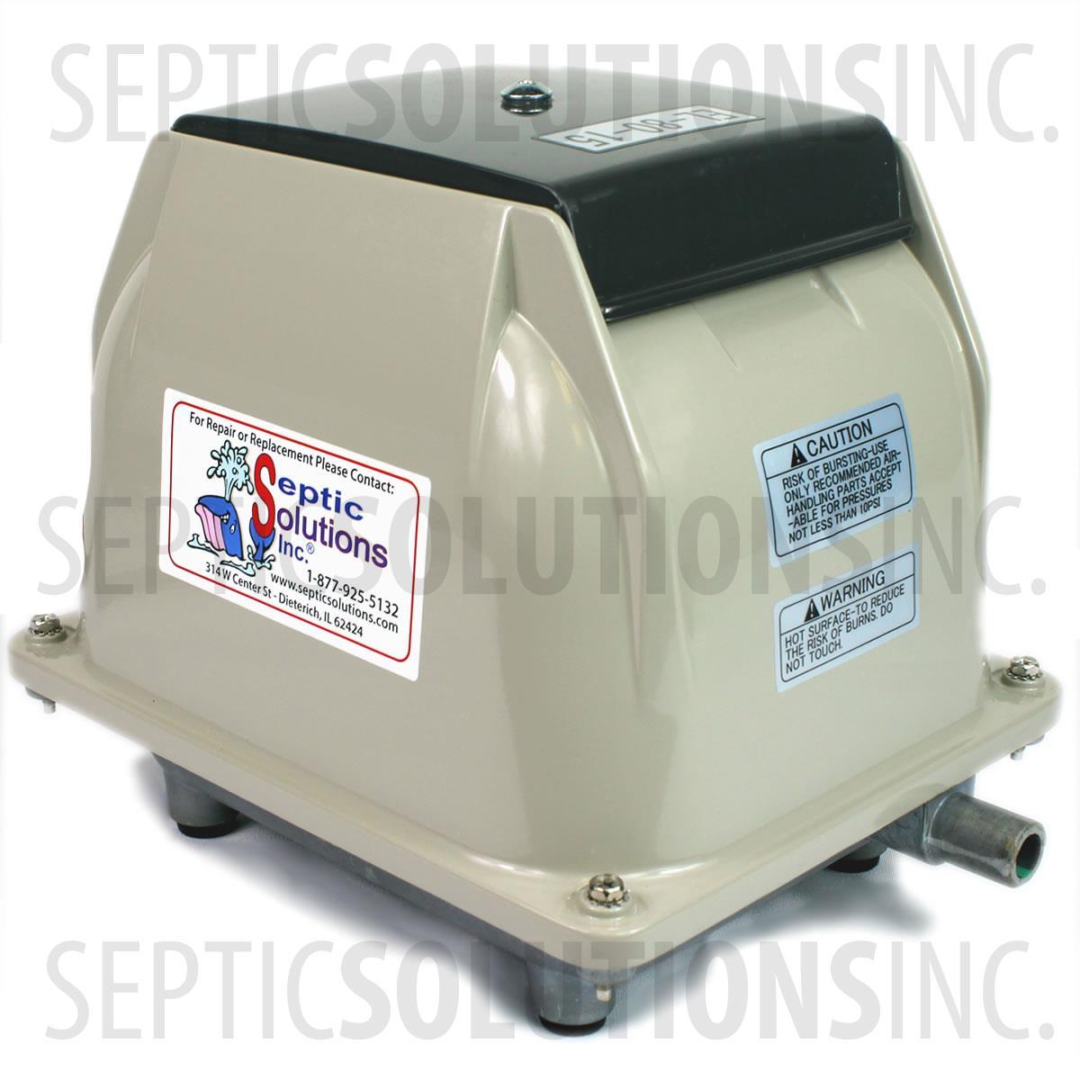 Secoh El 80 15 Linear Septic Air Pump Septic Aerator