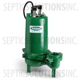 Ashland Model SWH100M2-20 1.0 HP High Head Sewage Ejector Pump