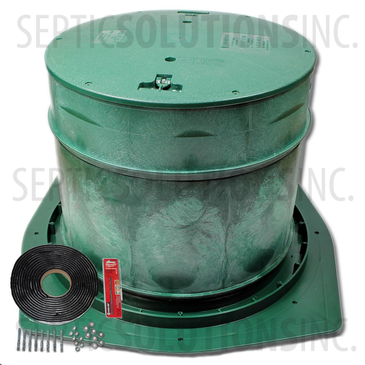 Septic Tank Riser Package 20 Diameter X 18 Tall