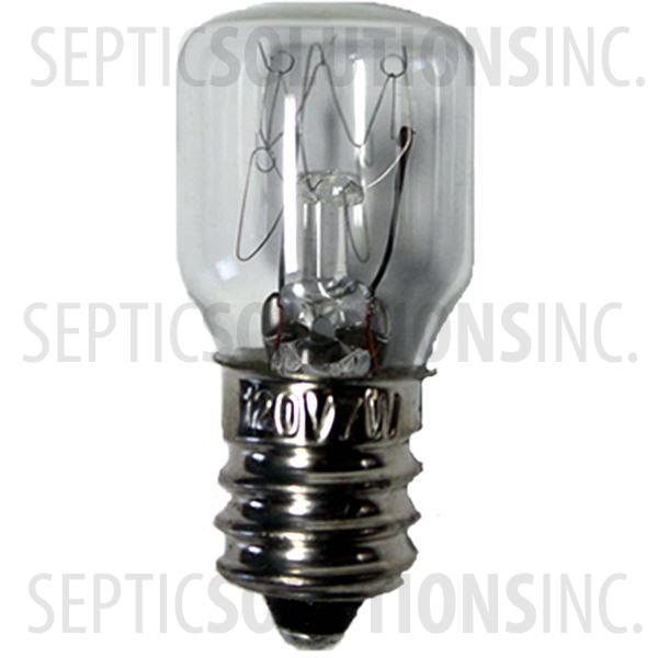 7 Watt Candelabra Bulb - Part Number 60A804