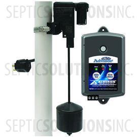 VertiMAC Sump Advisor Sump Pump Alarm and Control System with Vertical Pump Switch, Alarm Sensor, & Indoor Alarm Panel