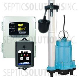 Elevator Sump System with 1/3 HP Pump and Oil Detection System