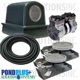 PondPlus+ P-O2 GRP2 Aeration System for Medium / Deep Ponds
