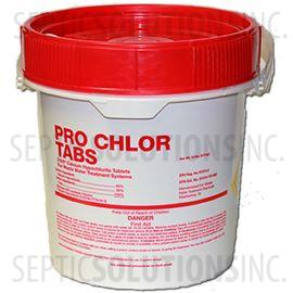 Pro-Chlor 25lb Pail of Septic Chlorine Tablets