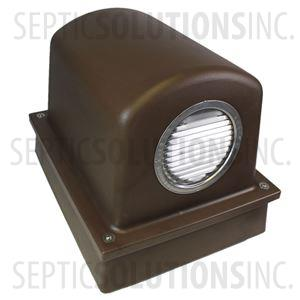 Pump Protector™ Vented Air Pump Housing and Platform in Mocha Brown