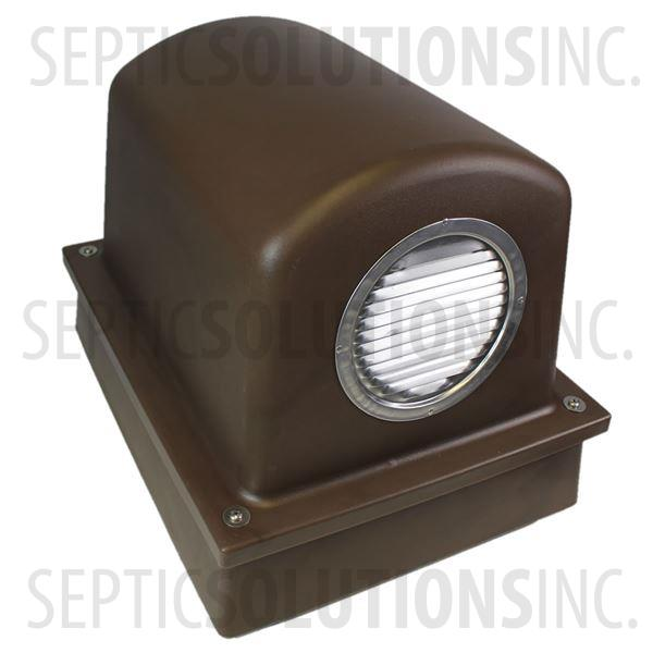 Pump Protector™ Vented Air Pump Housing and Platform in Mocha Brown - Part Number SSCOMBO-MOCHA