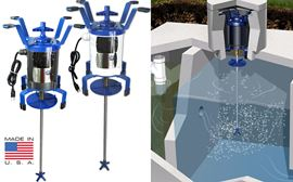 Septic tank shaft aerators fast free shipping available for Jet septic aerator motor