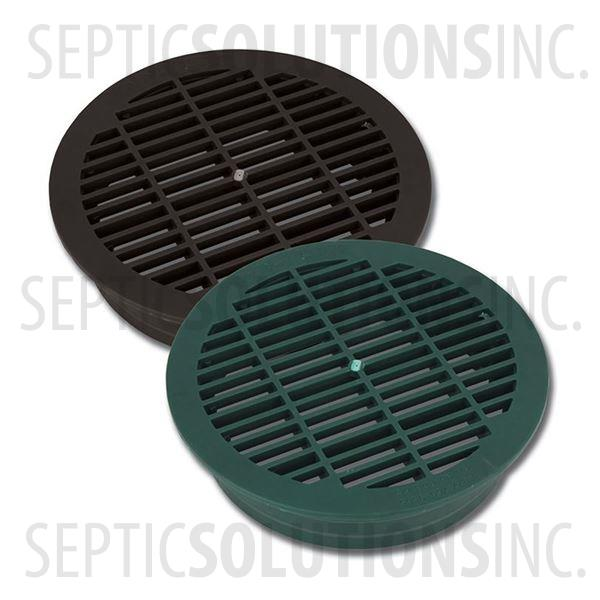 Polylok 6'' Round Drainage Pipe Grate - Part Number PDB-6G