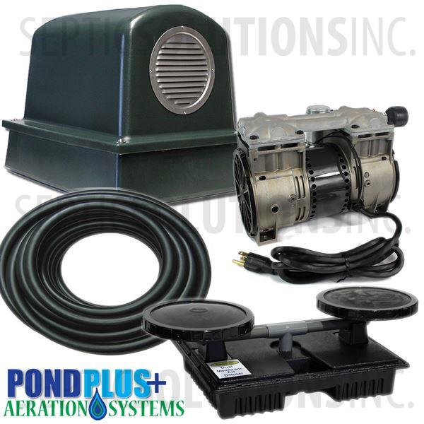PondPlus+ P-O2 TP1 Aeration System for Small / Deep Ponds - Part Number PO2TP1