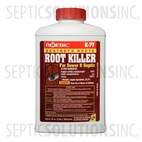 Roebic K-77 Root Killer For Sewer and Septic - Part Number K-77