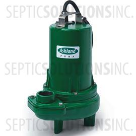 Ashland Model SW100M2-20 1.0 HP Submersible Sewage Ejector Pump