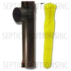 "Sim/Tech 4"" Bristle Effluent Filter and Baffle Combo"