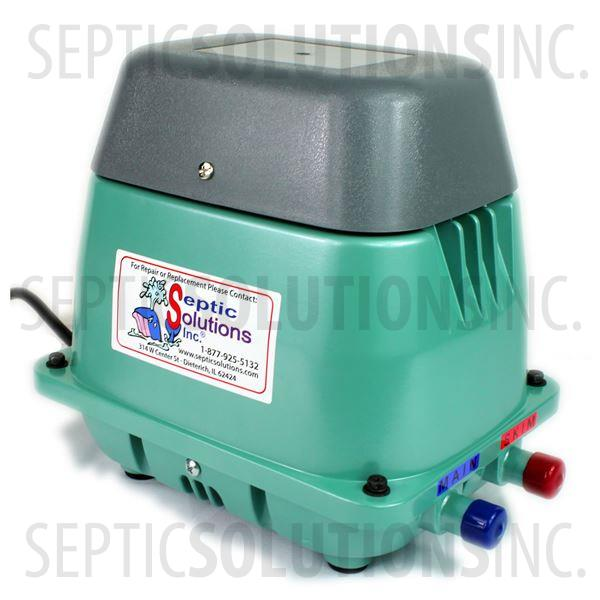 Hiblow HP-80W Dual Port Septic Air Pump - Part Number HP80W