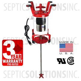 Ultra-Air Model 735 RED Flood Resistant Septic Aerator - Alternative Replacement For Jet Aerator