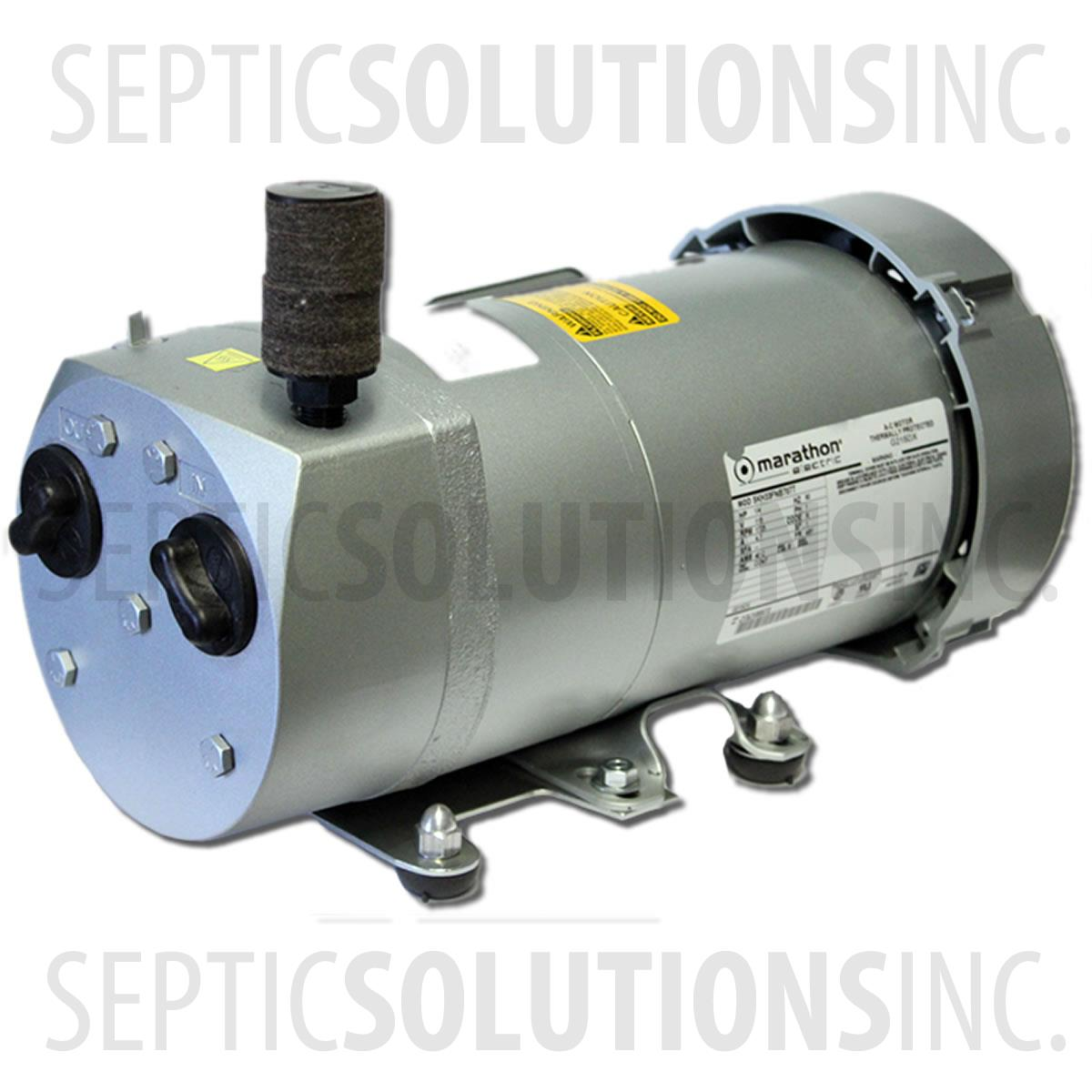 how to wire a gast at05 rotary vane compressor rh septicsolutions com