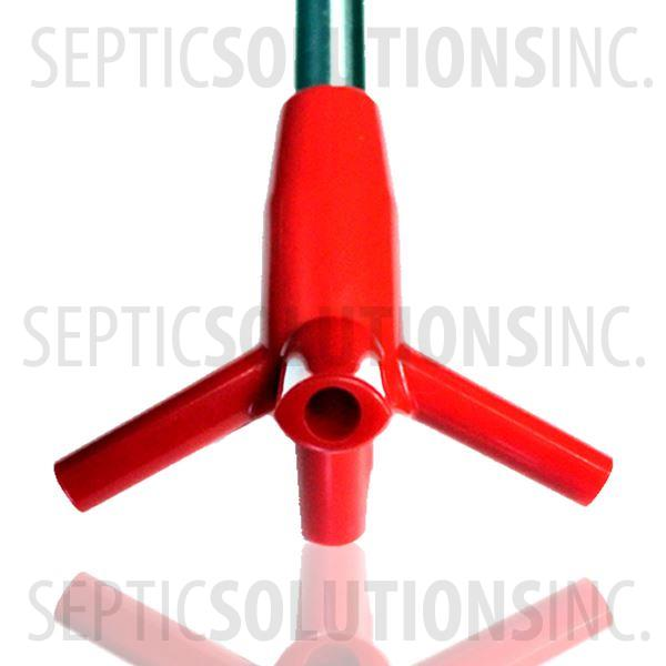 Ultra-Air Model 735 RED Septic Aerator - Alternative Replacement For Jet Aerator - Part Number UA12R