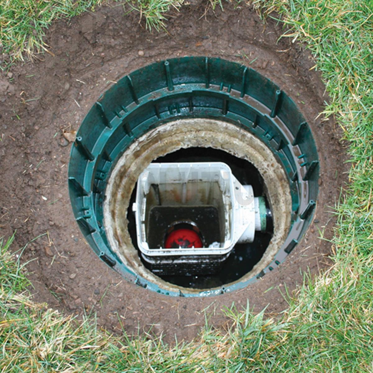 how to turn off septic tank alarm