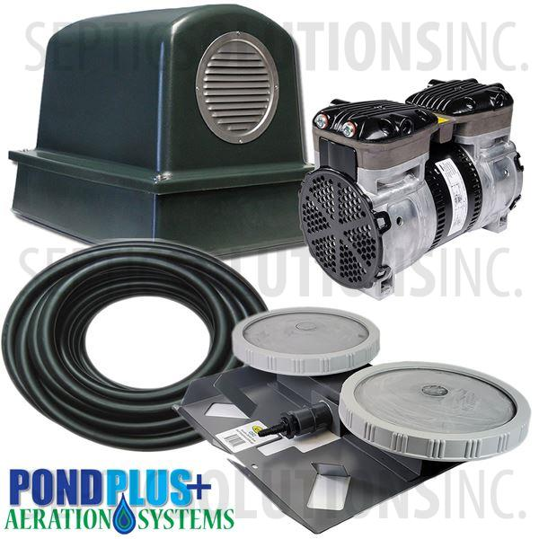 PondPlus+ P-O2 GRP1 Aeration System for Small / Deep Ponds - Part Number PO2GRP1