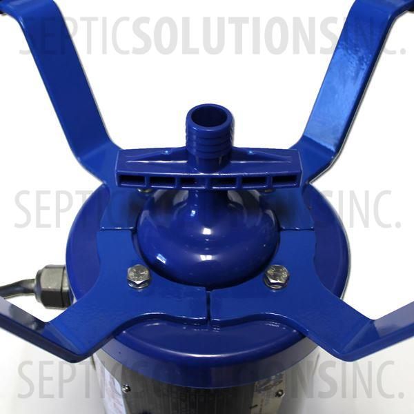 Ultra-Air Model 735 BLUE Flood Resistant Septic Aerator - Alternative Replacement for Norweco Singulair Aerator - Part Number UA14B-FR