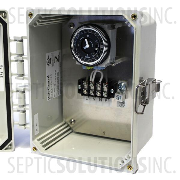 Regenerative Blower and Rotary Vane Timer Control Box (120VAC, 10 FLA) - Part Number 80000-413-SB