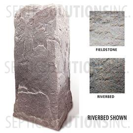 Riverbed Brown Replicated Rock Enclosure Model 113