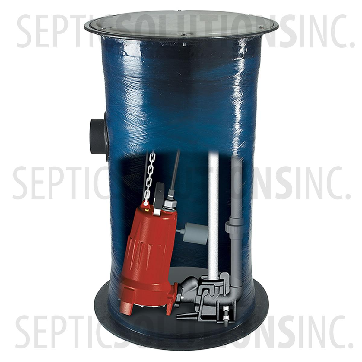 Liberty 2448 Series Simplex Sewage Grinder Pump Station