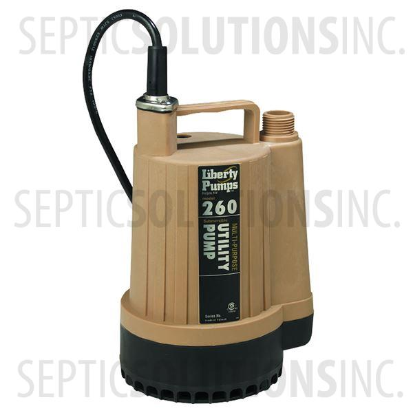 Liberty Pumps 260 1/6 HP Submersible Utility Pump - Part Number 260