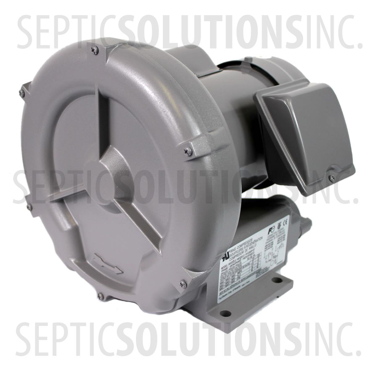 Septic Tank Blower : Fuji vfc p t hp septic solutions parts