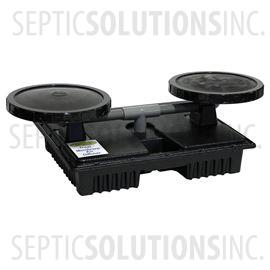 PondPlus+ Dual Membrane Diffuser Assembly for Pond Aerators