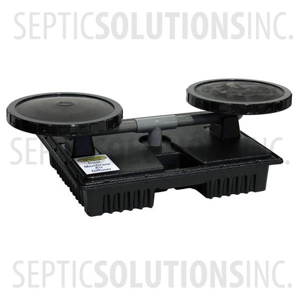 PondAir Self-Weighted Dual Membrane Diffuser Assembly for Pond Aerators - Part Number EPMD2
