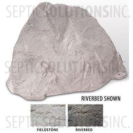 Riverbed Brown Replicated Rock Enclosure Model 109