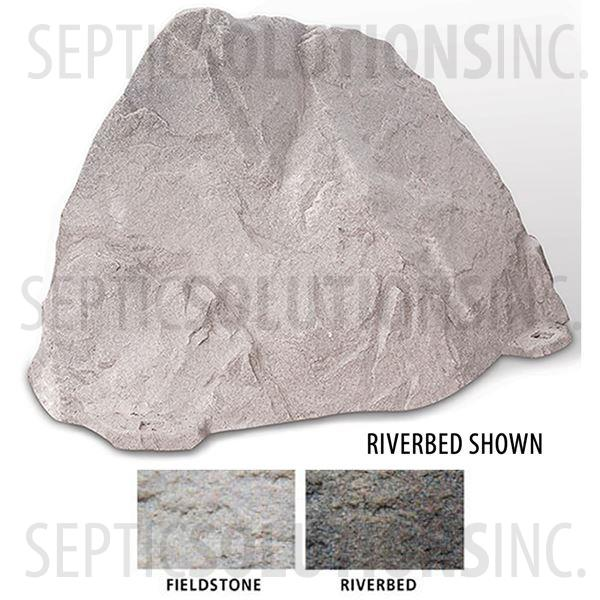 Riverbed Brown Replicated Rock Enclosure Model 109 - Part Number 109-RB