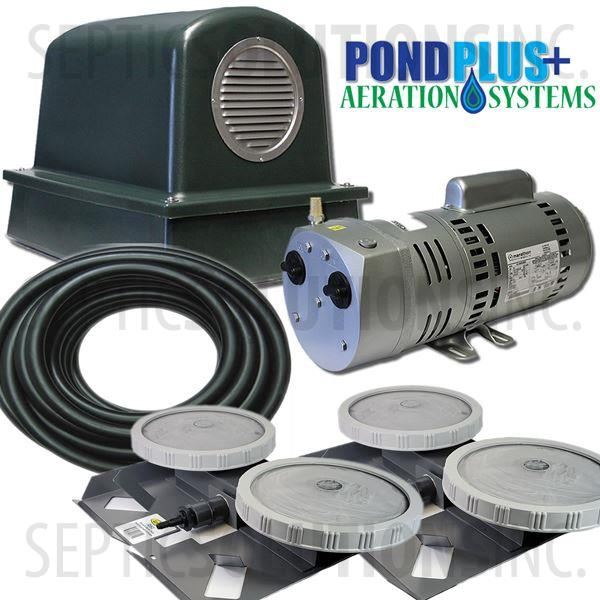 PondPlus+ P-O2 RV102 Aeration System for Small Lakes - Part Number PO2RV102
