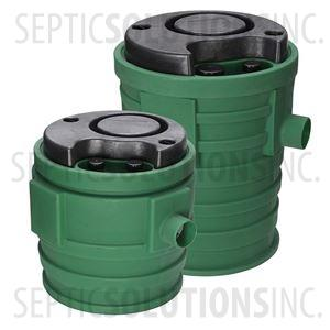 "Little Giant PitPlus Jr. 24"" x 24"" Pre-Packaged Sewage Pump System with 4/10 HP Sewage Ejector Pump"