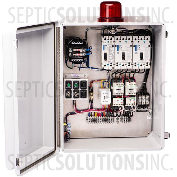 SPI Model SDC3B460 Three Phase Duplex Control Panel (460V, 0-11 FLA) - Part Number 50A510