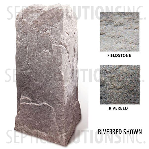 Fieldstone Gray Replicated Rock Enclosure Model 113 - Part Number 113-FS