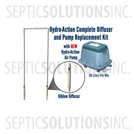 Hydro-Action Complete NSF Approved Diffuser and Pump Replacement Kit