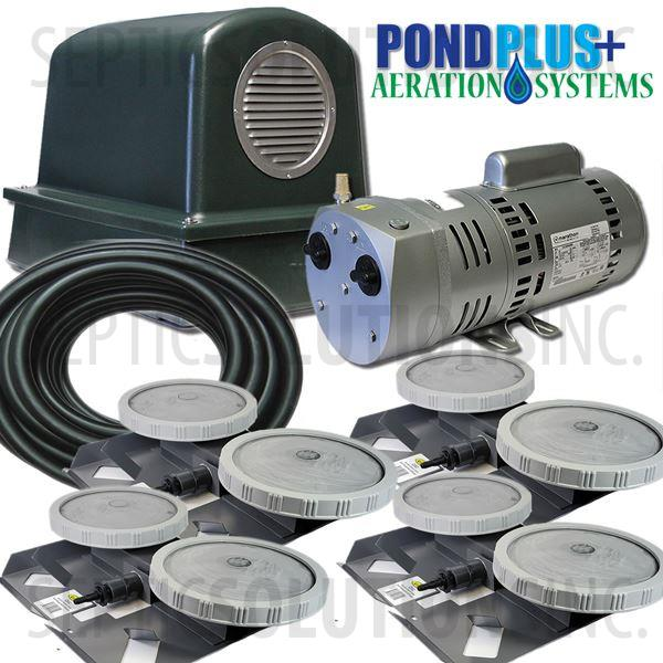 PondPlus+ P-O2 RV104 Aeration System for Small Lakes - Part Number PO2RV104