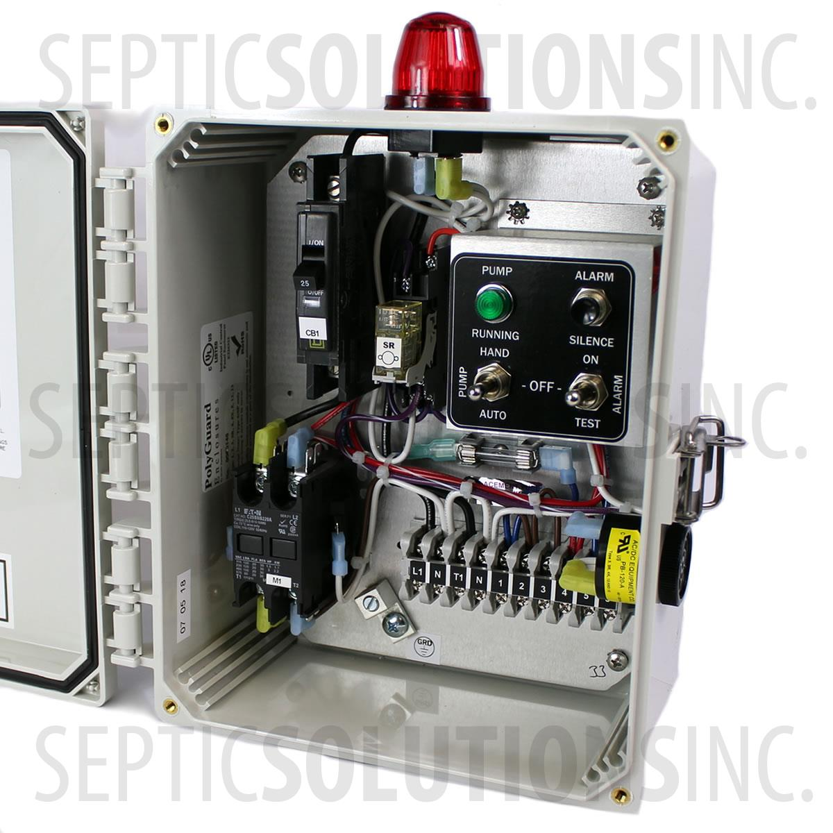 Ssc1b 120v Simplex Pump Station Control Panel Fast