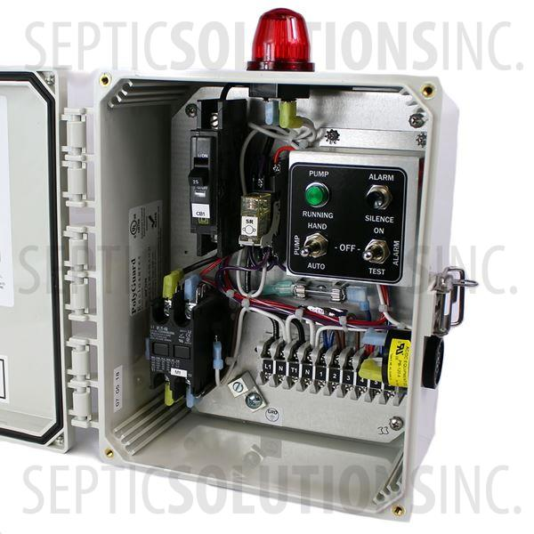 SPI Simplex Control Panel Model SSC1B (120V, 0-20FLA) - Part Number 50A001
