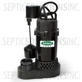 Ashland PS50V 1/2 HP Thermoplastic Submersible Sump Pump