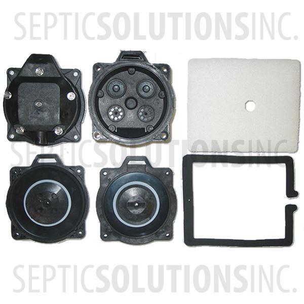 Thomas 5150 and 5200 Diaphragm Replacement Kit - Part Number DRK200